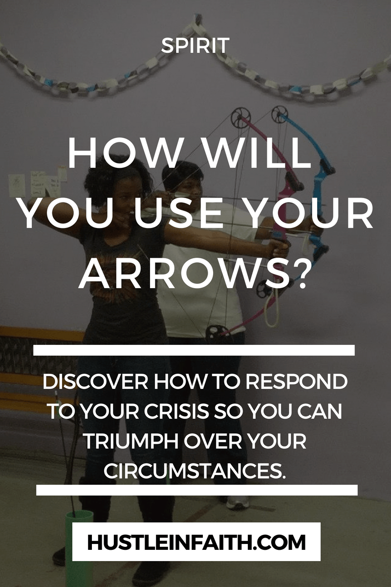How will you use your arrows